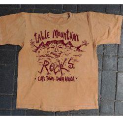 Sacred Sites table mountain tshirt