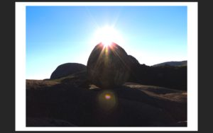 """Paarl Rock """"The Seed of Light and Hope"""""""